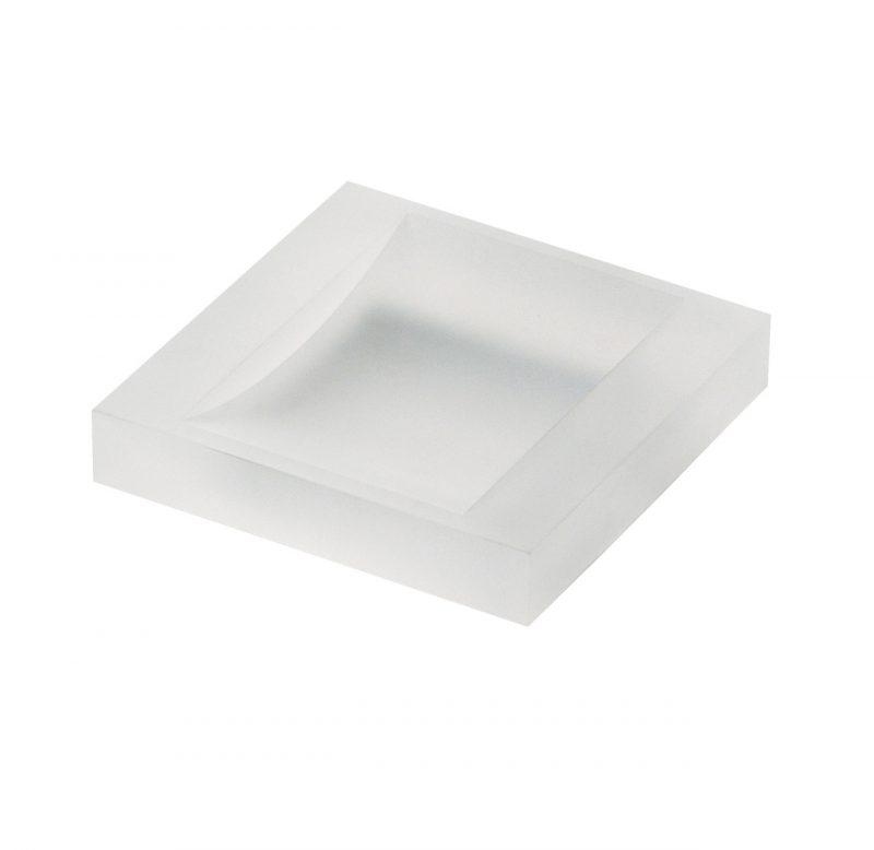 Porta sapone plexiglass appoggio