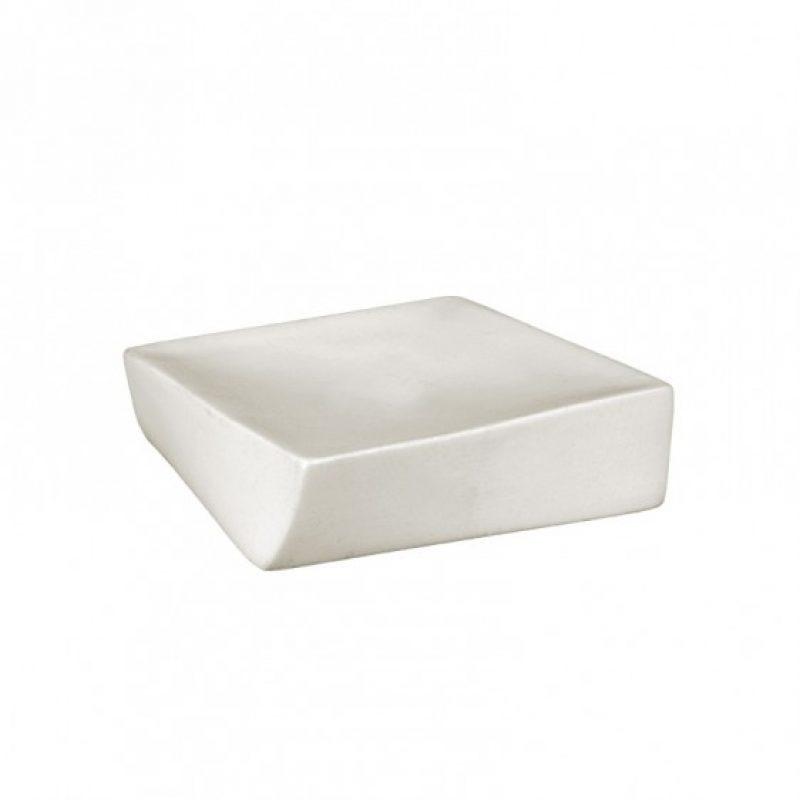 Porta sapone ceramica appoggio