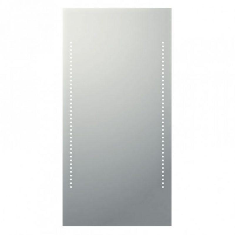 specchio con led integrato e interruttore touch